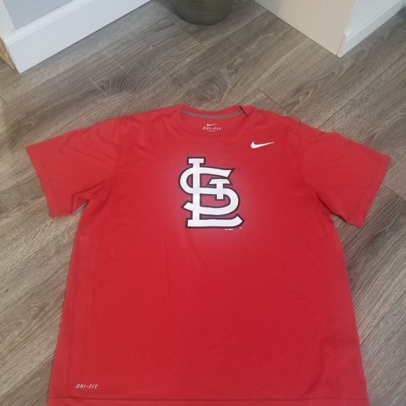 Nike Other - Men's Nike dry fit St. Louis Cardinals shirt large